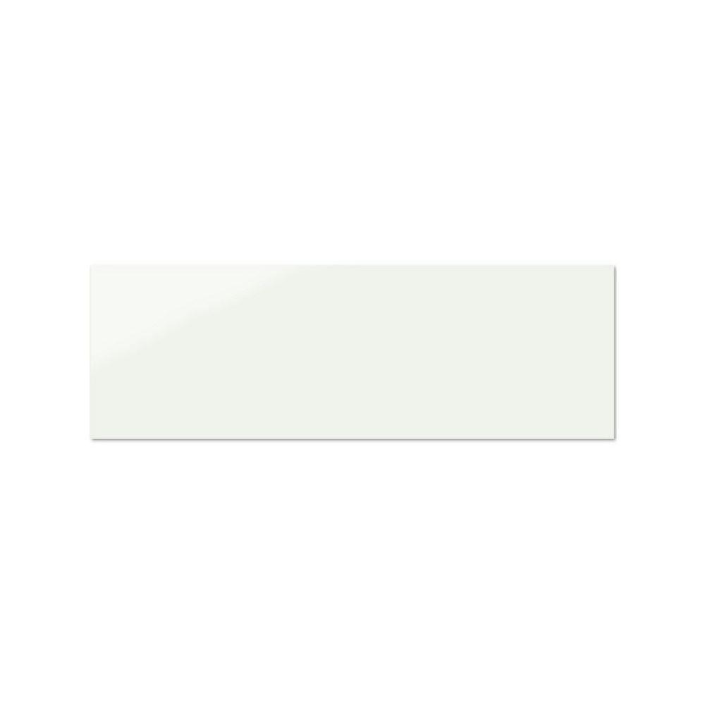 Wandtegels Kerabo wit glans 33,3×100 (Doosinhoud 1,33 m²)