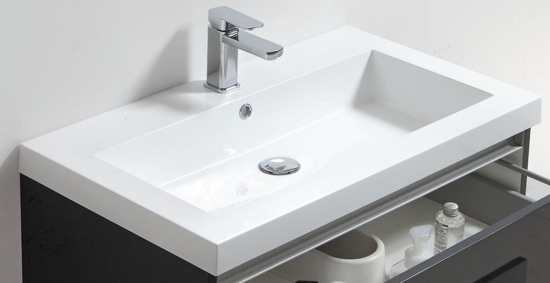 Ondiepe Wastafel Meubels : Ondiepe wastafel meubels: wastafelmeubels badkamermeubel met vaste