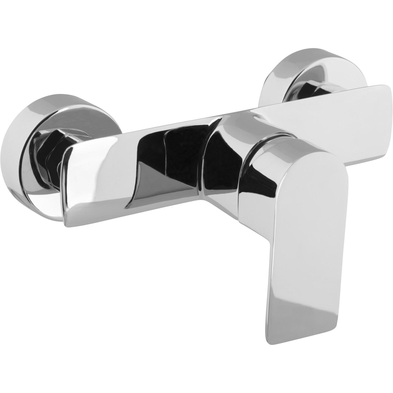Sanitair-producten 72537 Douchemengkraan VM Dynamic Eengreeps Chroom (Incl Rozetten en S-koppeling)