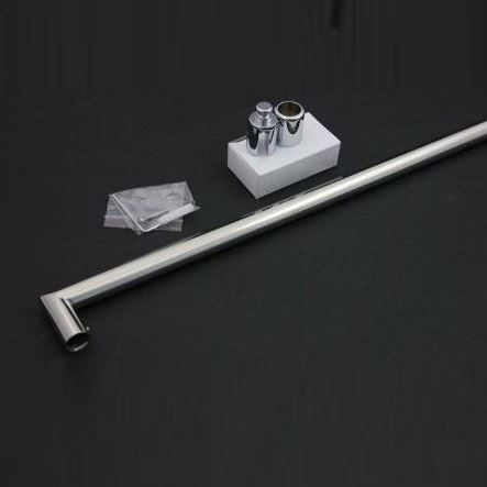 Sanitair-producten 5641 Losse Stabilisatiestang chroom 90cm. rond model (complete set)