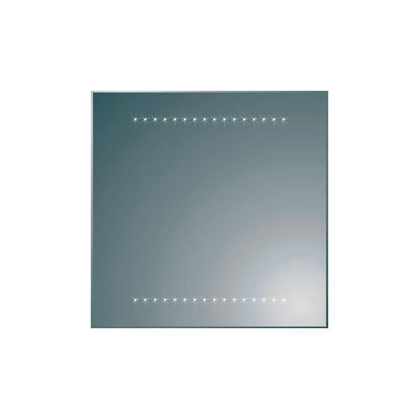 Plieger spiegel met geïntegreerde LED-verlichting 60x60cm