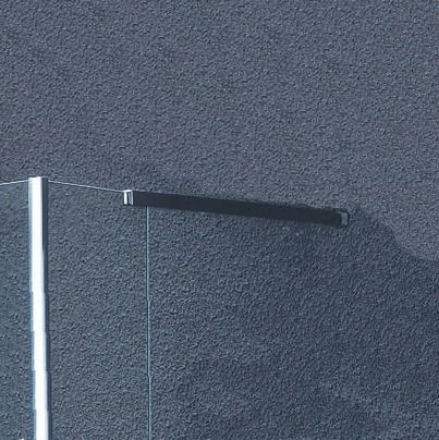 Sanitair-producten 5636 Vierkante stabilisatiestang chroom 60cm. (complete set)