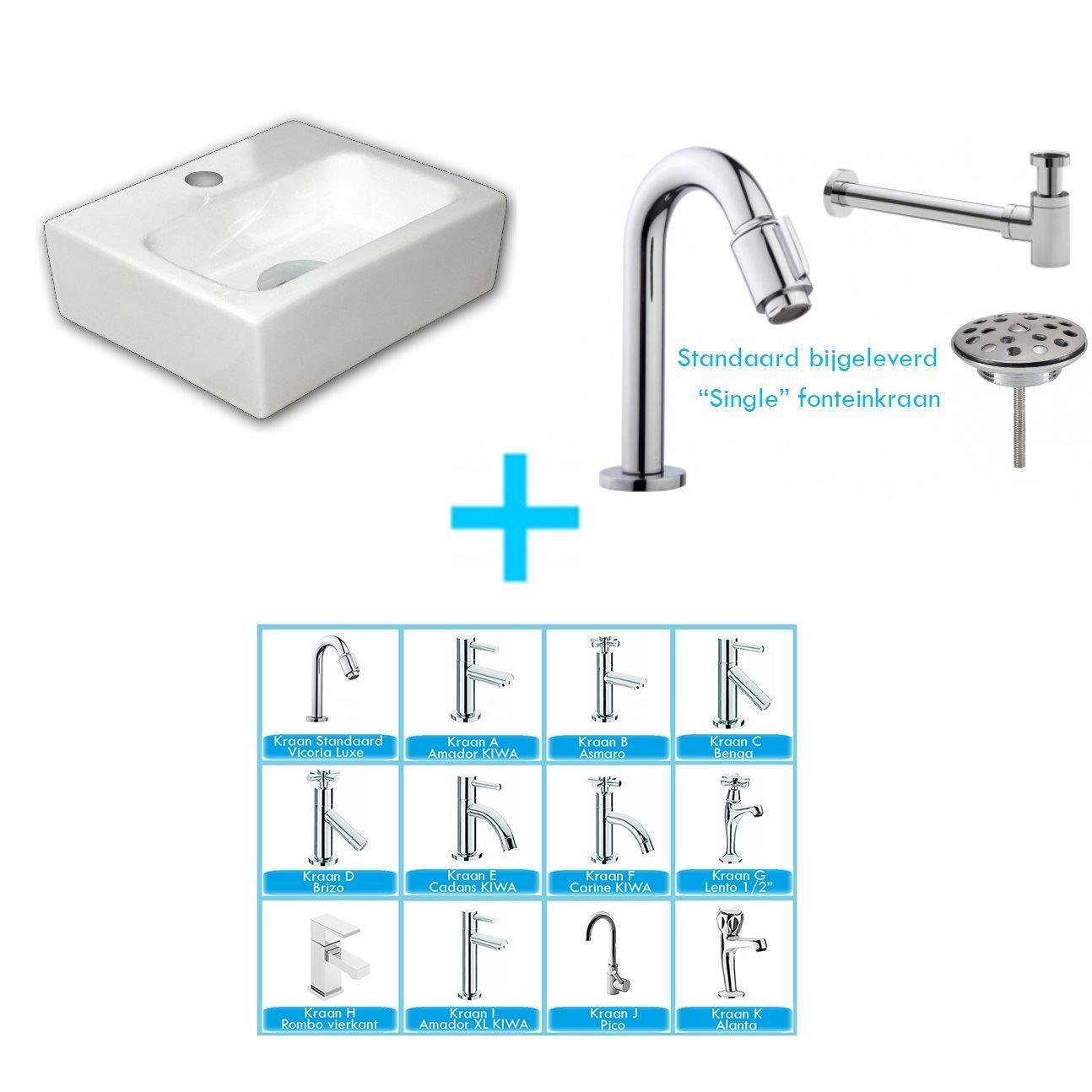Sanitair-producten > Wastafels > Fontein toilet
