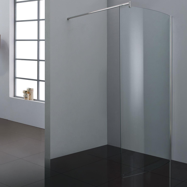 Inloopdouche Sanilux Gebogen glas 90x200cm 10mm EasyClean