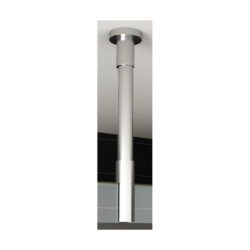 Accessoires 67495 BWS Plafond Stabilisatiestang rond 100 cm Inkortbaar Chroom