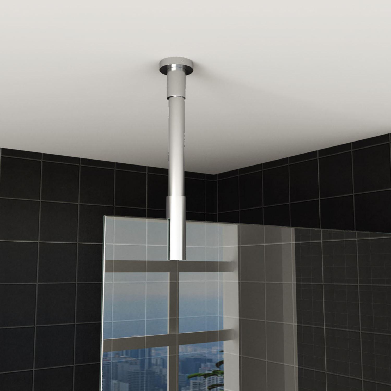Sanitair-producten 18742 P{lafond Stabilisatiestang Wiesbaden rond 100cm inkortbaar Chroom