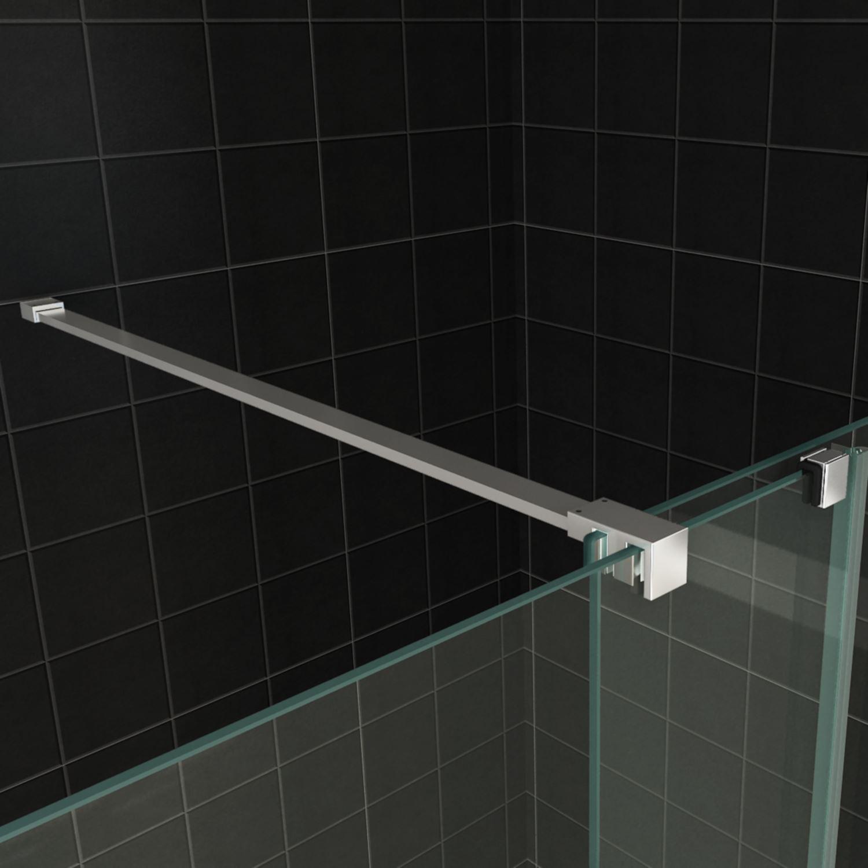 inloopdouche wiesbaden 100x200 cm op rail 10mm nano glas