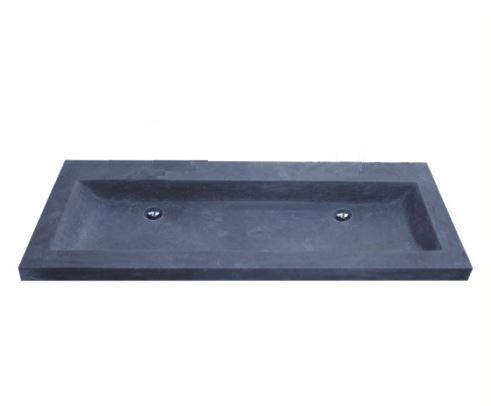 Mineraal Gegoten Wastafel : Wastafel trendy 120 cm natuursteen 1 kraangat tegels en badkamers