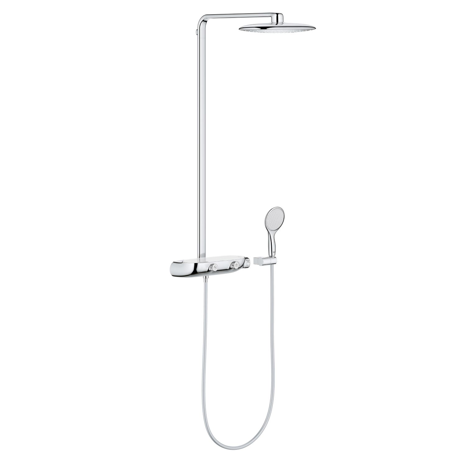Rainshower Systeem SmartControl 360 MONO Douchesysteem met thermostaatkraan (Chroom)