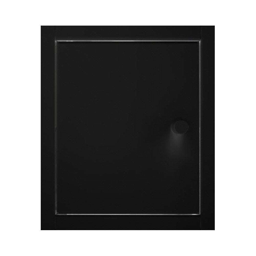 Accessoires Inbouw Toiletkastje Back-up Gepoedercoat Mat Zwart te koop met veel voordeel