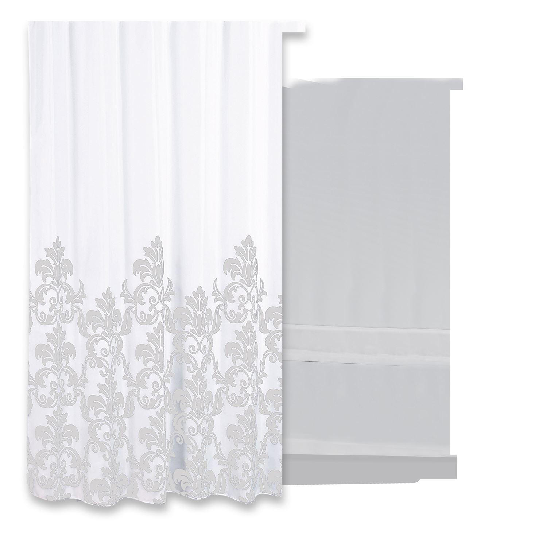 Douchegordijn Differnz Classic Polyester 180x200 cm Grijs Accessoires > Douchegordijnen > Douchegordijnen snel en voordelig in huis