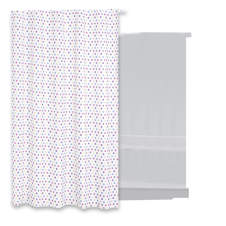 Douchegordijn Differnz Tips Polyester 180x200 cm Accessoires > Douchegordijnen > Douchegordijnen snel en voordelig in huis