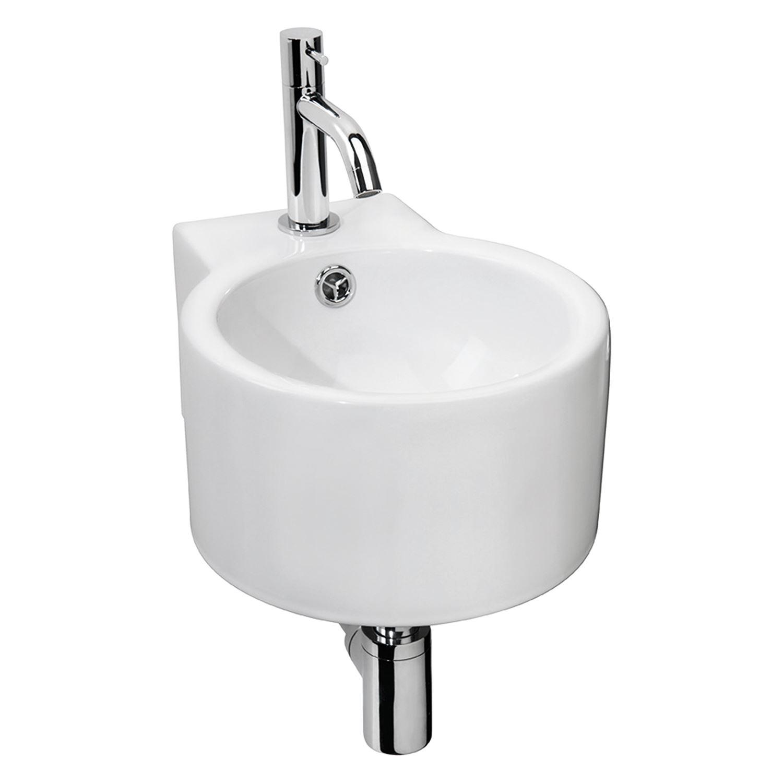 Fonteinset Differnz Hestia Keramiek 28x35x17 cm (inclusief kraan en afvoer) Wastafels > Fontein toilet > Fonteinset snel en voordelig in huis