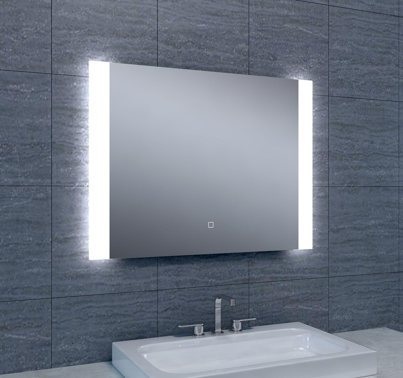 Badkamerspiegel Sunny LED Dimbaar 800x600