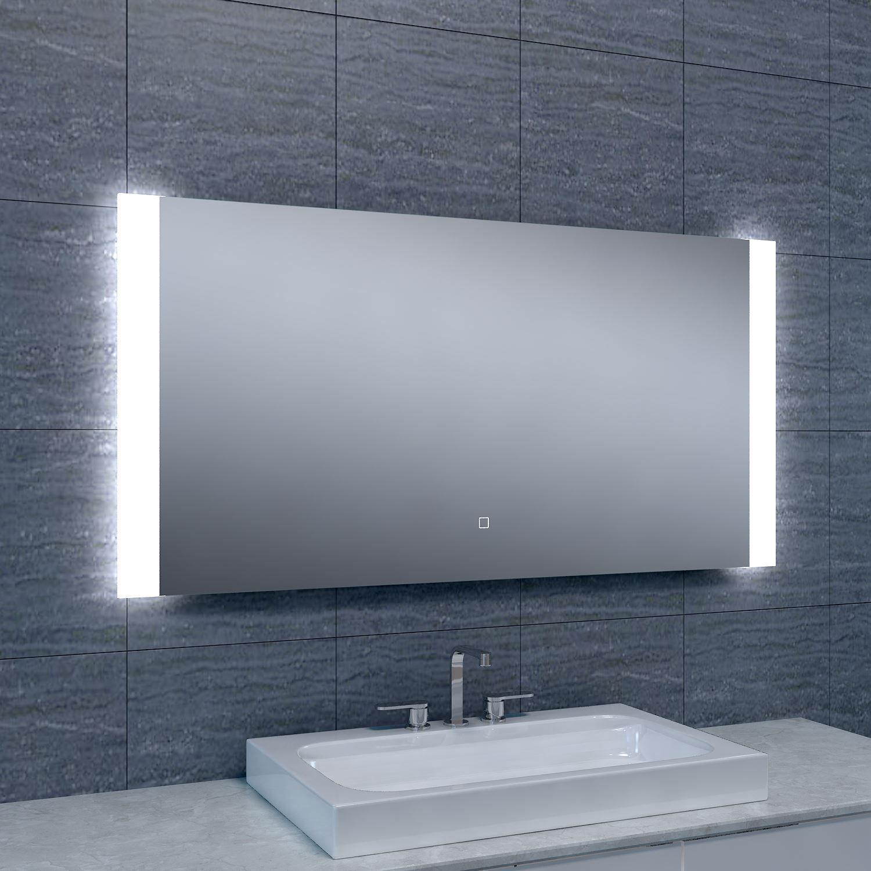 Badkamerspiegel Sunny LED Dimbaar 1200x600