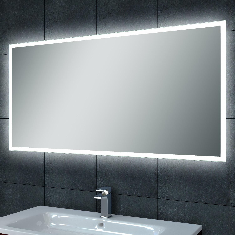 Badkamerspiegel Quatro LED 1000x600