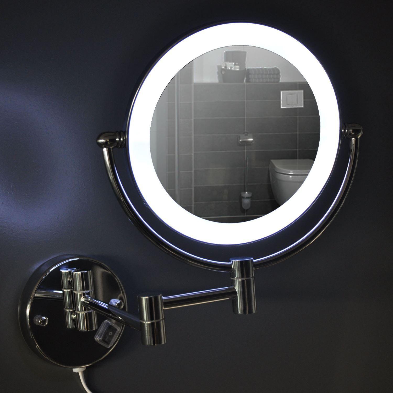 Wand spiegel Wiesbaden met LED verlichting