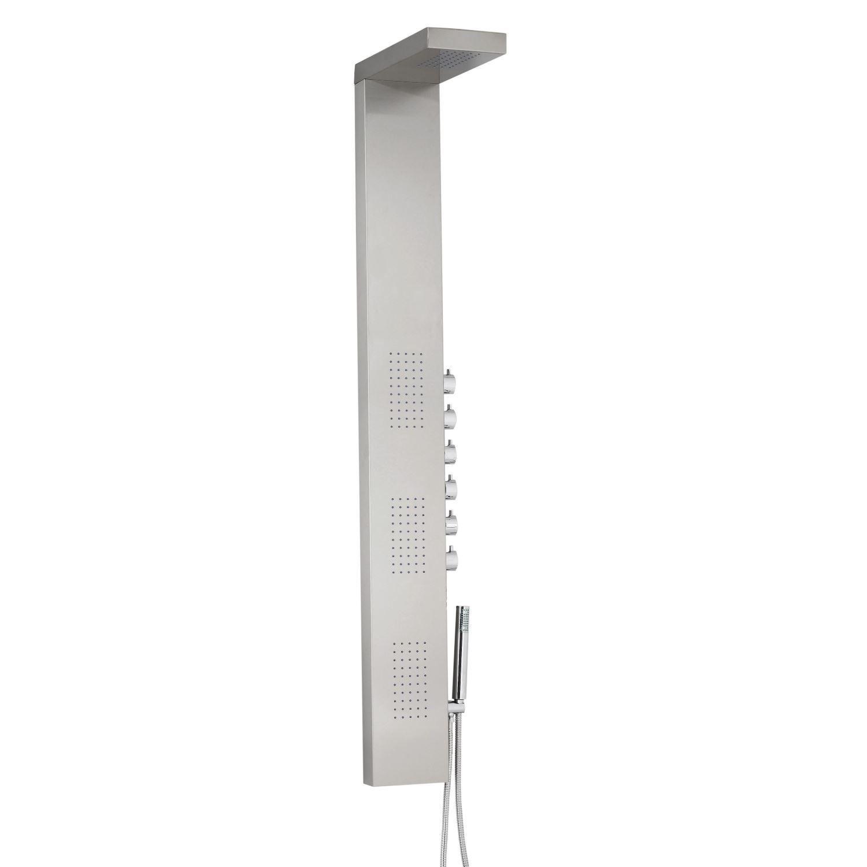 Douchepaneel Best Design Monaco RVS Thermostatisch