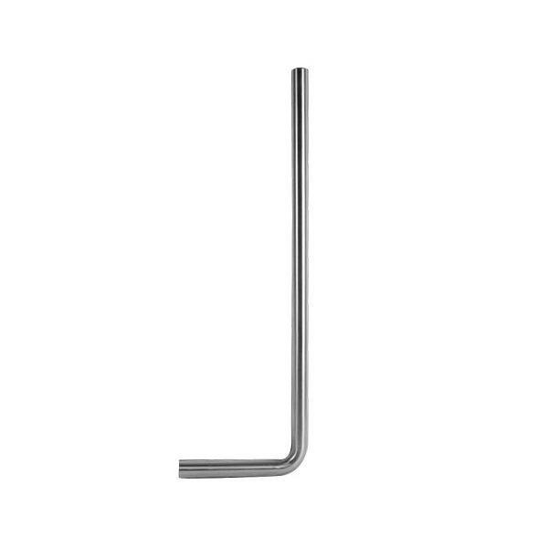Vloerbuis Best Design Ore 80x20x3.2 cm RVS voordeel