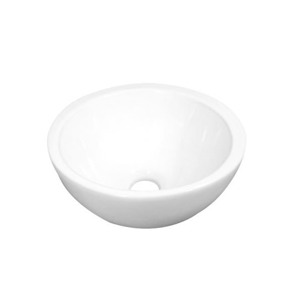 Fontein Best Design Round Ø25 cm Opbouw Keramiek Glans-Wit