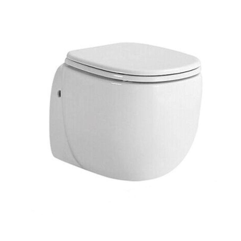 Productafbeelding van Best design One pack Quali 50cm incl. zitting glanzend wit