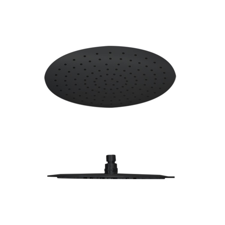 Kranen 65692 Hoofddouche Best Design Nero Luxe Rond 30 cm Mat Zwart