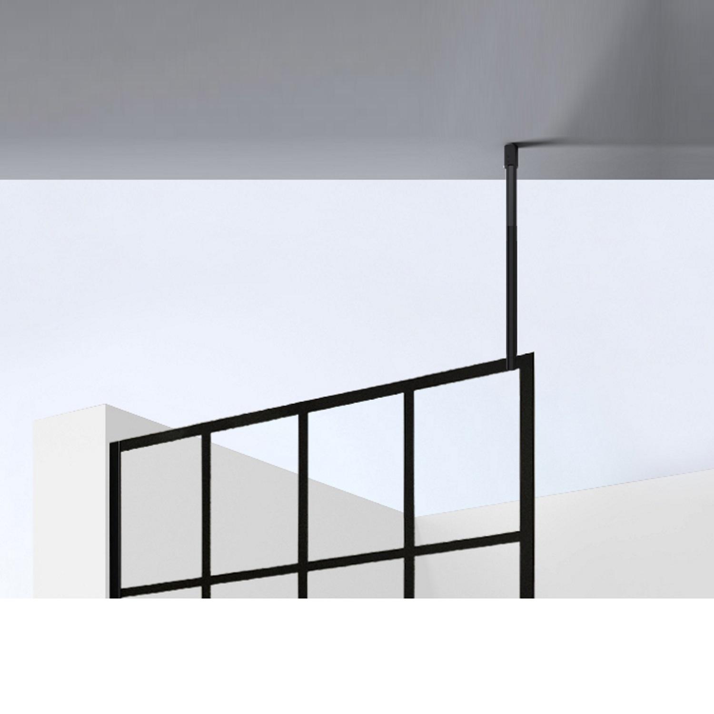Sanitair-producten 72374 Stabilisatiestang Best Design Black Plafond Zwart 100cm Inkortbaar