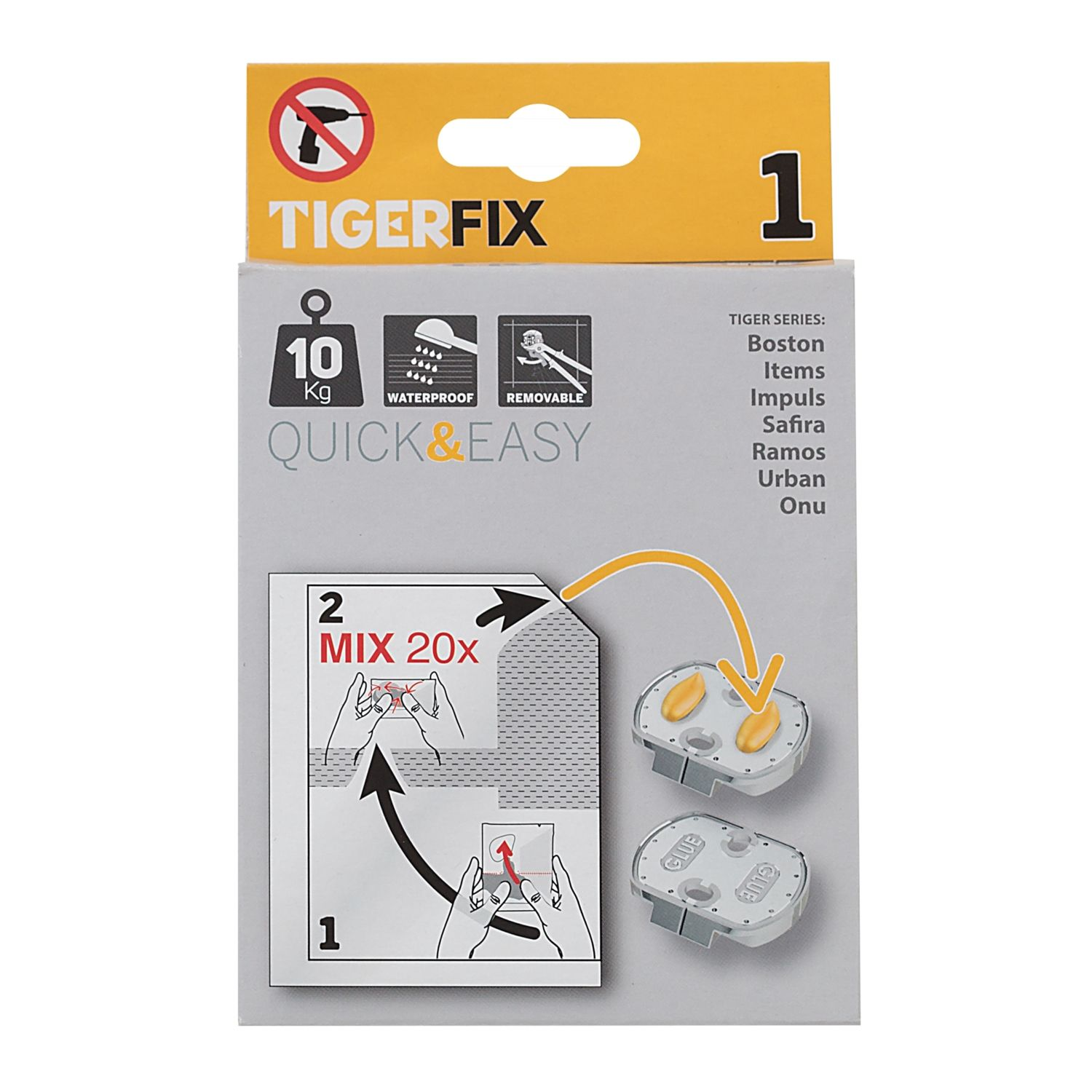 Accessoires 72760 Tiger TigerFix type 1