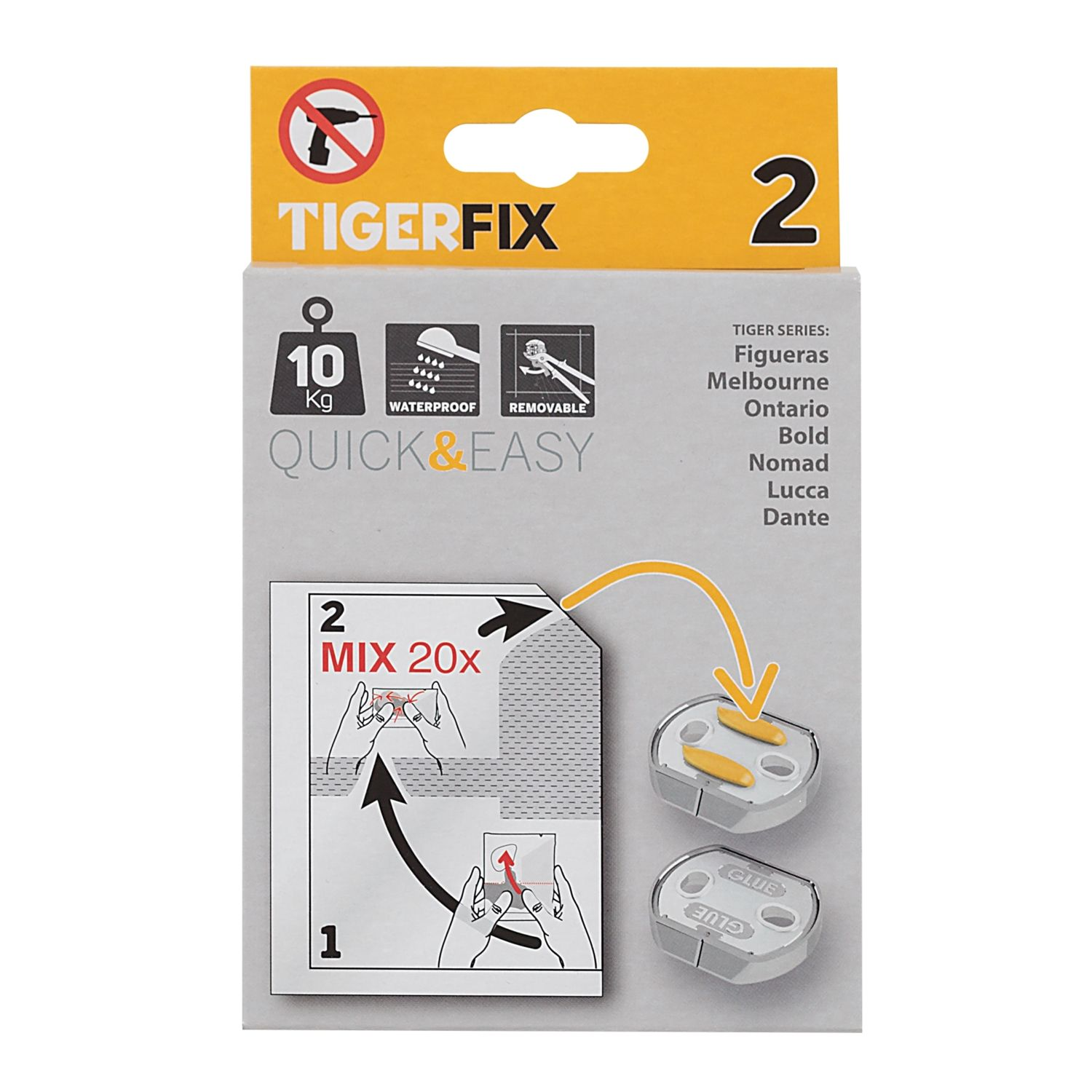 Accessoires 72761 Tiger TigerFix type 2