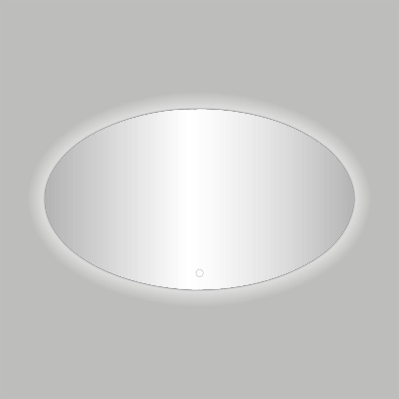 Badkamerspiegel Best Design Divo-80 LED Verlichting 80x60 cm Ovaal
