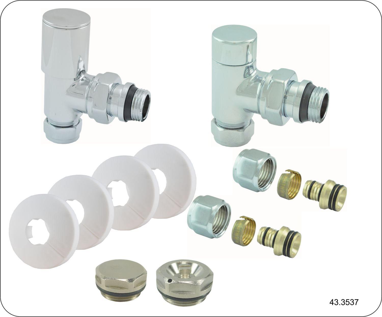 Sanitair-producten 11198 Riko luxe rad.aansluitset haaks