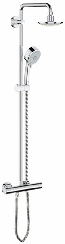 Grohe New Tempesta thermostatisch (douche) opbouw douchecombinatie set chroom 27922000