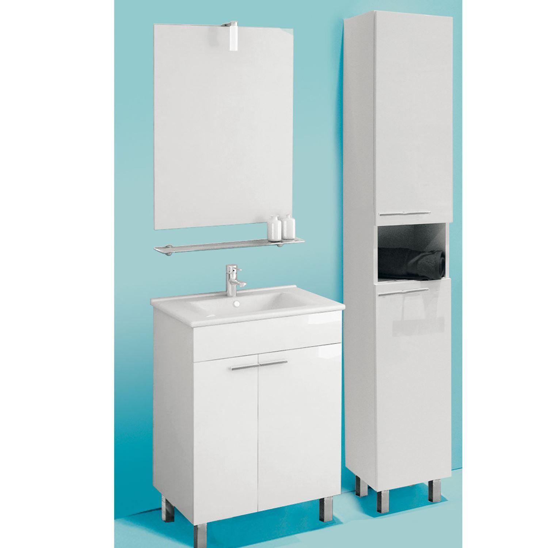 plete badkamermeubel set ruby 60cm incl spiegel verlichting