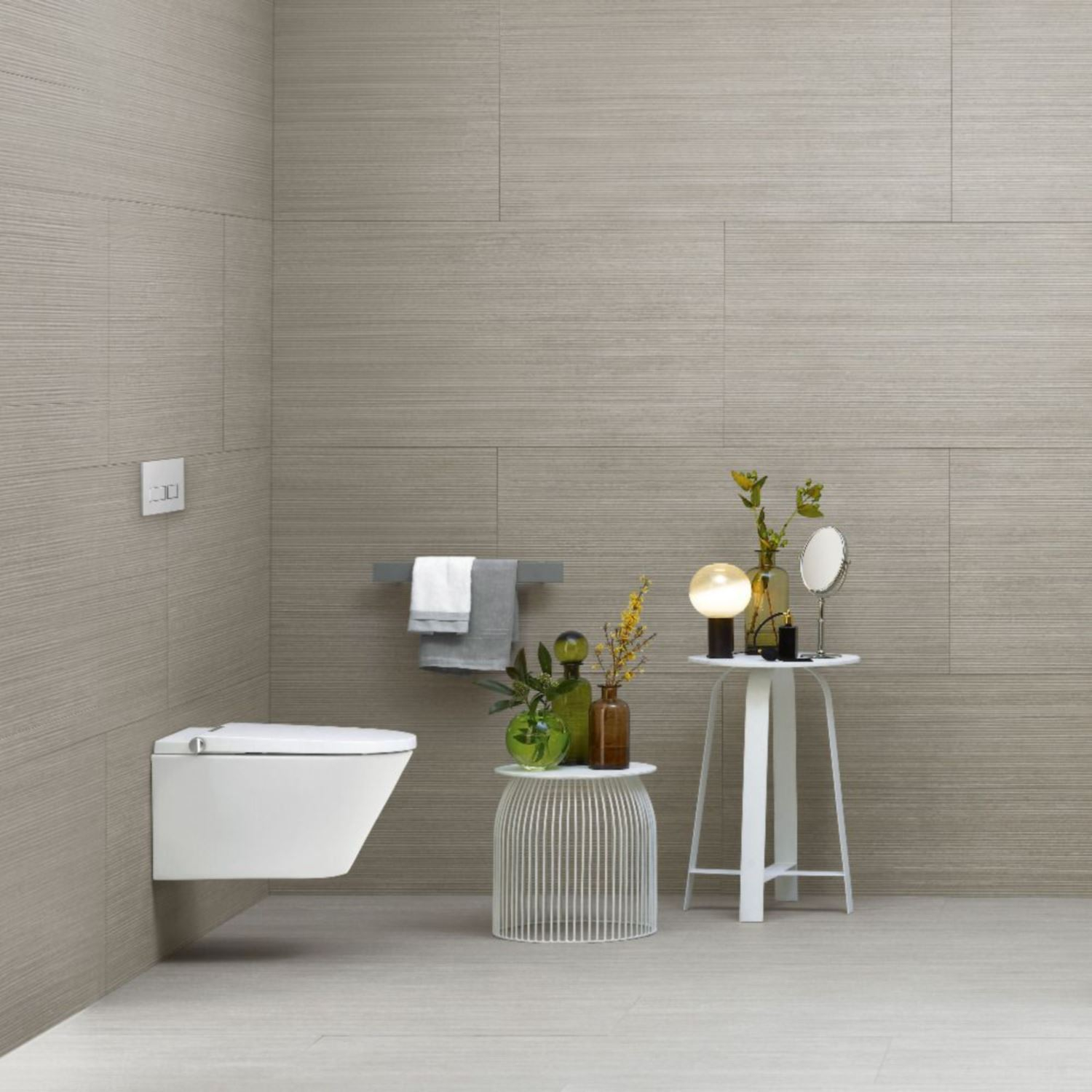 douche wc axent one rimless wit inclusief zitting