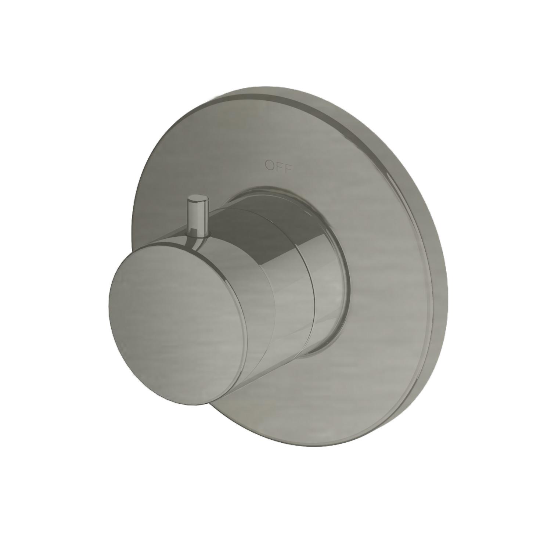 Productafbeelding van Hotbath Cobber Afbouwdeel stopkraan Geborsteld Nikkel B010