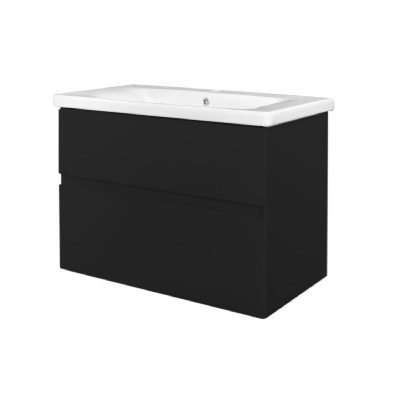 Badkamermeubel Best Design Quick Greeploze 65 cm Mat Zwart voordeel