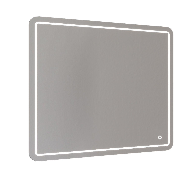 Badkamerspiegel Allibert Kruz LED Verlichting 32 W Rechthoek 100x80x3 cm