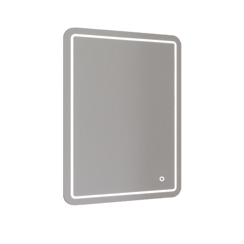 Badkamerspiegel Allibert Kruz LED Verlichting 24 W Rechthoek 60x80x3 cm