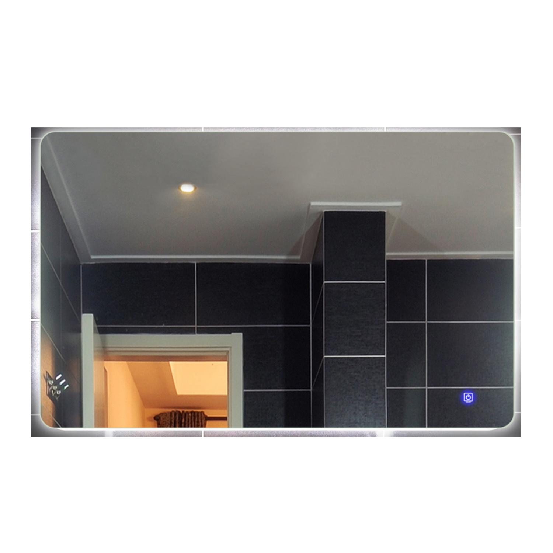 Badkamerspiegel Boss Wessing Aspen met LED Verlichting en Spiegelverwarming 100x70 cm