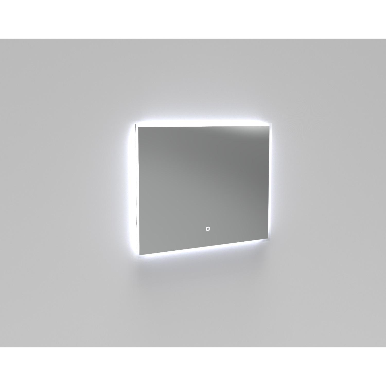 Badkamer Badkamerspiegel LED Verlichting Boss & Wessing Reflect 90×70 cm Spiegels