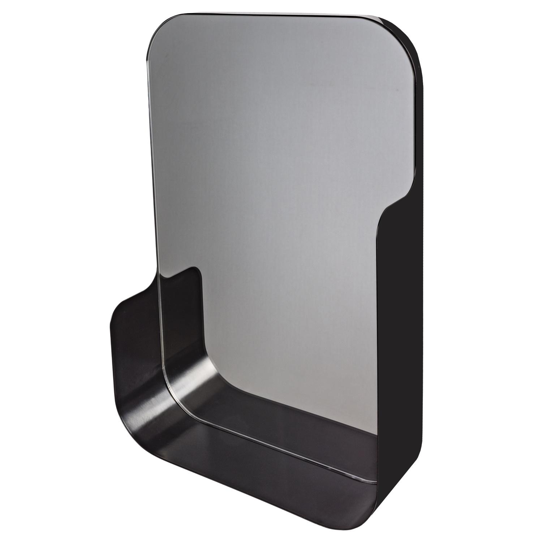 Haceka Pekodom spiegel zwart 40x90x12cm