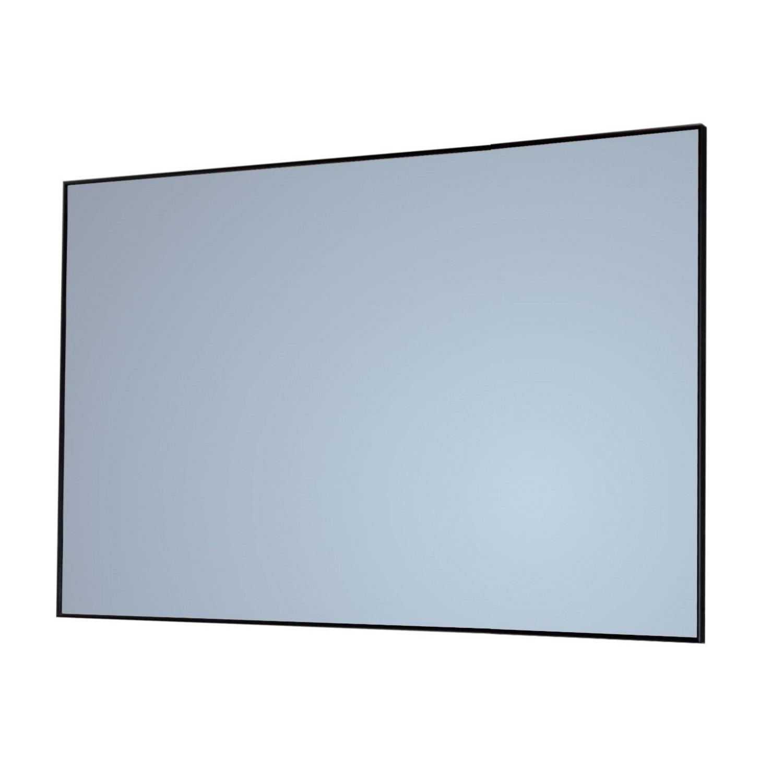 Badkamerspiegel Q Sanicare 75x70cm Zwart