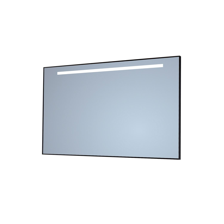 Badkamerspiegel Sanicare Q-Mirrors 'Cool White' LED-Verlichting 70x65x3,5 cm Chroom Omlijsting