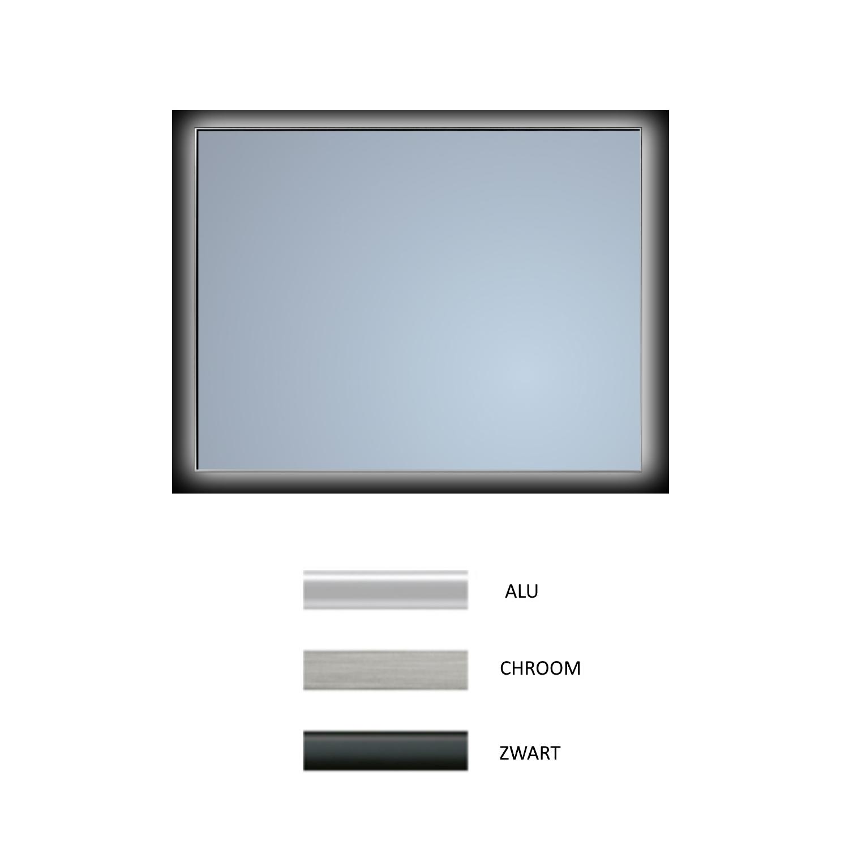 badkamerspiegel sanicare q mirrors ambiance warm white led verlichting handsensor schakelaar alle kleuren alle maten