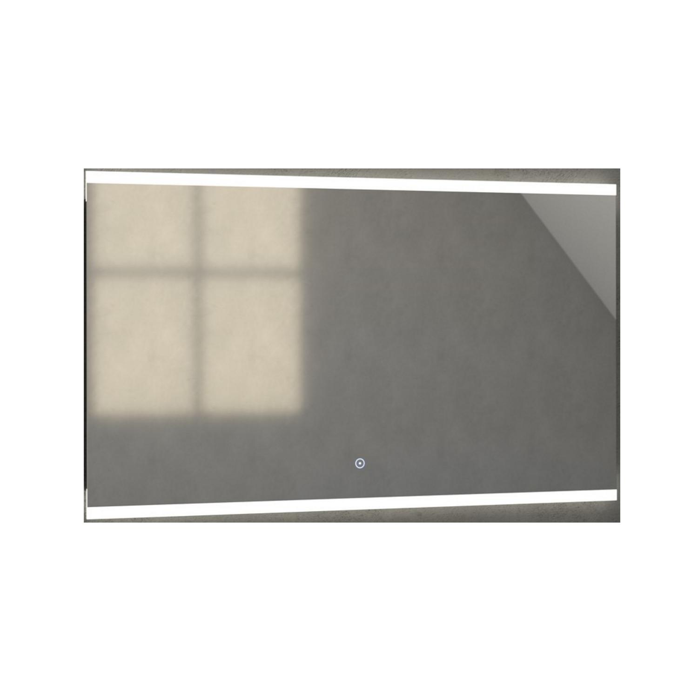 Badkamerspiegel met LED Verlichting Sanitop Twinlight 140x70x3 cm