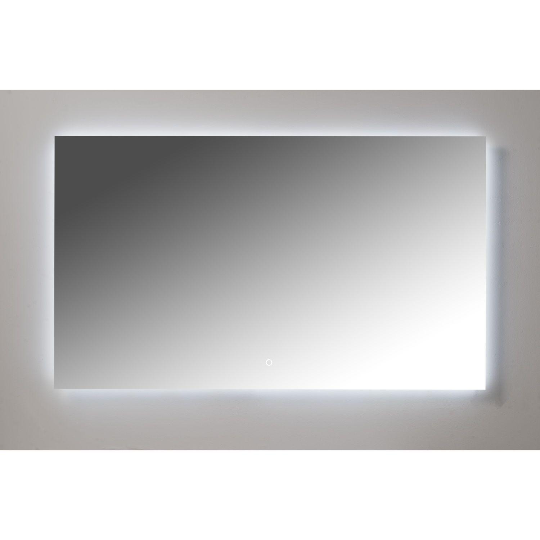 Badkamerspiegel Xenz Peschiera 90x70cm met Rondom Indirecte Verlichting en Spiegelverwarming