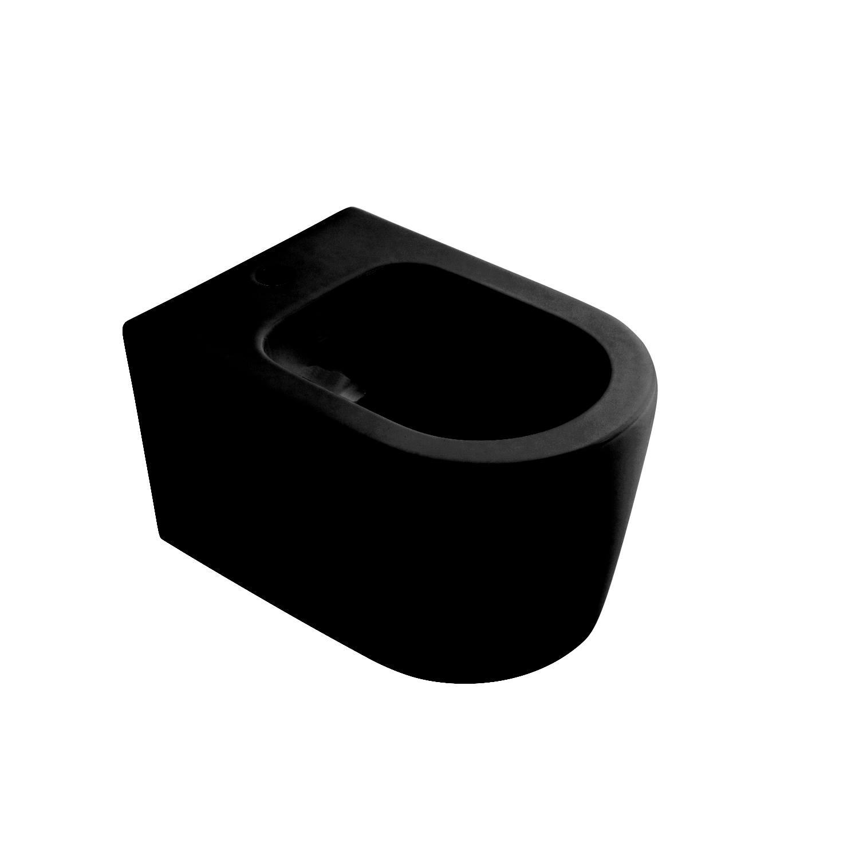 Bidet Salenzi Form Square Mat Zwart voordeel