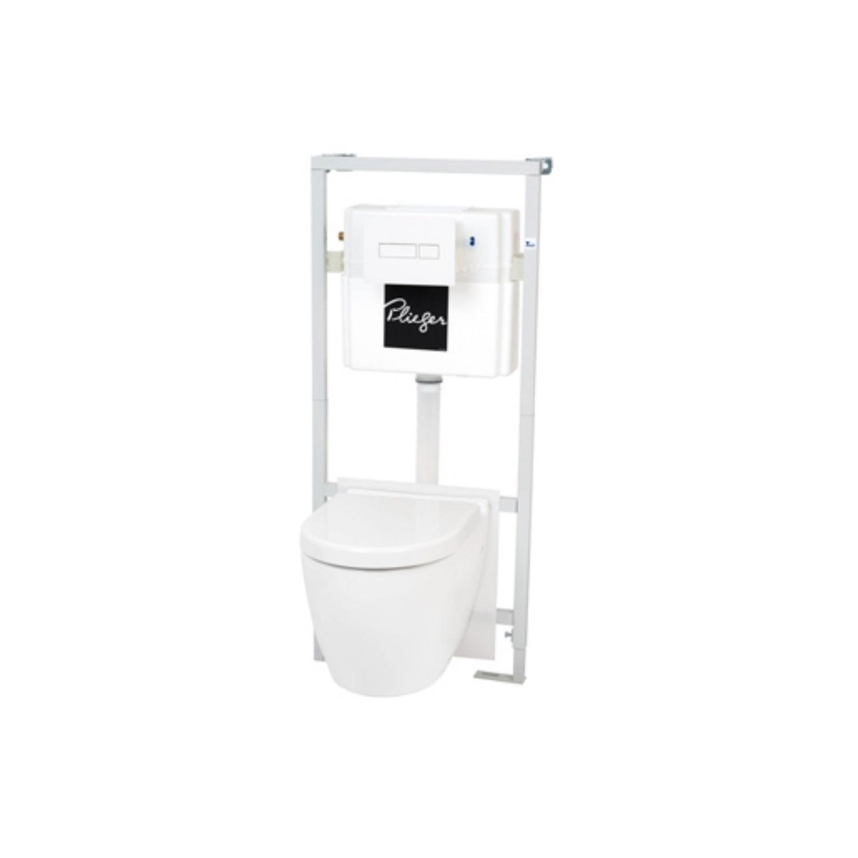 Productafbeelding van Plieger Toiletset Bravo Dualflush Diepspoel Met Softclose Zitting Wit