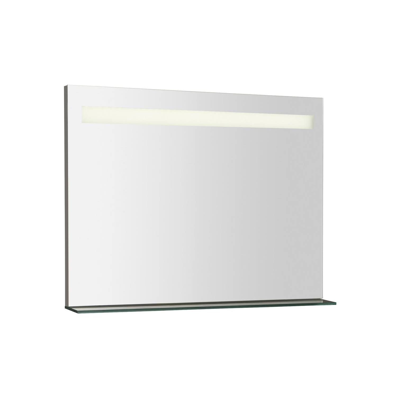 Badkamerspiegel Sapho Breto 80x60.8 cm LED-Verlichting Incl. Planchet