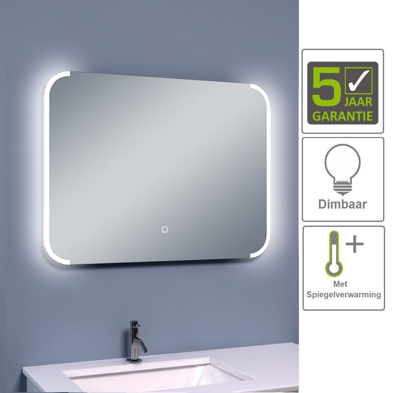 Tegels voor sanitair spiegels for Badkamer spiegel 60x80